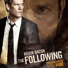 """The Following Mid Season Promo Art with Kevin Bacon -- FBI agent Ryan Harder continues his search for the elusive killer Joe Carroll in tonight's episode 'Welcome Home,"""" airing at 9 PM ET on Fox. -- http://wtch.it/1KDyP"""