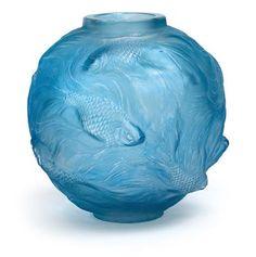 """A vase """"Formose"""" by René Lalique, 1924"""