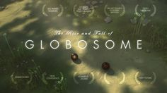"The Rise and Fall of Globosome. In the vastness of space, there's a a small speck of rock inhabited by the most peculiar lifeforms: Dark little ""Globosomes"" that start to replicate fast and begin to show signs of intelligence. The film tells the story of the rise and fall of these little creatures."