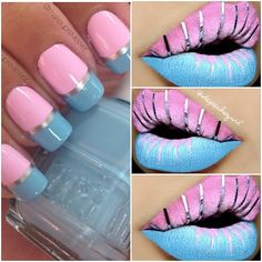 depechegurl #cosmetics #makeup #lip #nail #nails #nailart