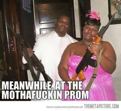 Meanwhile at the prom…