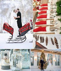 Lovely Winter Wedding Ideas