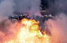 Riot! athens greece, bombs, police, metals, firefighters, buildings, earth, families, middle east