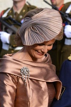 Princess Mathilde of Belgium -- The Royal Hats Blog