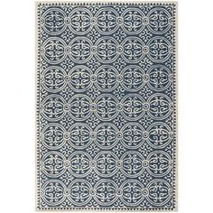 Low budget?  No worries.  One of MANY choices of great architectural finds I have found at OVERSTOCK.com via @Architect LINK :  Handmade Cambridge Moroccan Navy Blue Wool Rug