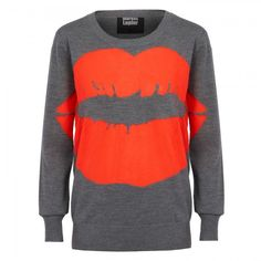 My love affair with Mr Lupfer continues..  Big Smacker jumper