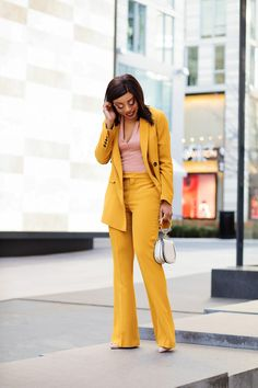 What I Am Wearing:Zara blazer: similar here, love this hereZara pants: similar here, love this here, Zara bodysuitCoat (old): try this here/ here, more hereShoes: here, budget friendly here/here Bag: