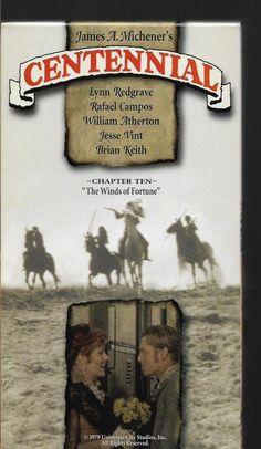 Centennial Chapter Ten Lynn Redgrave Brian Keith  VHS