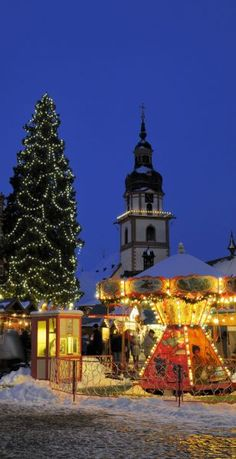 Christmas Market in Erbach, Germany   25 Impressive photos of Christmas celebrations around the World. #17 Is Awesome!