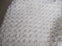 Beautiful! Puffed Star #crochet baby blanket - free pattern!