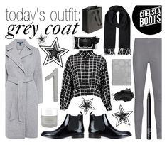 """""""today's outfit: grey coat - 20161125"""" by catharine-polyvore ❤ liked on Polyvore featuring Lauren Ralph Lauren, Arma, Marc Jacobs, Boscia, Omorovicza, CB2, Urban Decay and NARS Cosmetics"""