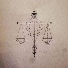 Cán cân công lý, thiên bình boi :))) #tattoodesign #geometrictattoo #libratattoo #libra♎️