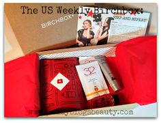Pammy Blogs Beauty: Feb 2014 Birchbox Box Opening: the US Weekly Box!