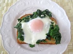 Fool-Proof Eggs Florentine