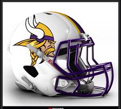 Awesome 2015 Vikings Concept helmet