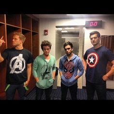 """(previous pinner) """"Lightbulbs Assemble!""""   Anthem Lights + Superheroes = AWESOME. One reason I love them."""