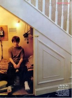 Under the Stairs at Number 4 Privet Drive.