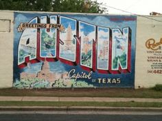 Check out all of the amazing austin street art