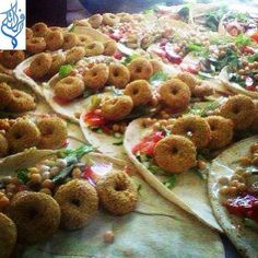 Syrian Food. FALAFL