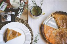 Receta quiche bacón y cebolla caramelizado : via La Chimenea de las Hadas