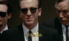 Tim Roth in Reservoir Dogs.