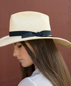 Gladys Tamez Millinery Natural Esthella Panama Panama Hat 02c724e7f45f