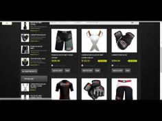 Martial Arts Store PrestaShop Theme 1.5