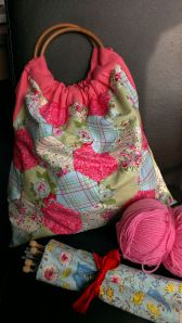 patchwork knitting bag from Sew Sensational
