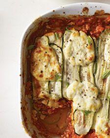 """Zucchini-Ribbon """"Lasagna"""""""