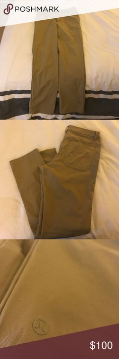 Lululemon ABC pants Never worn, in great condition lululemon athletica Pants Chinos & Khakis
