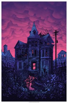 """…and sometimes you go to that place we do not know, and sometimes you come back, and sometimes you don't."" Art Print by Daniel Danger  (Onsale Info)"
