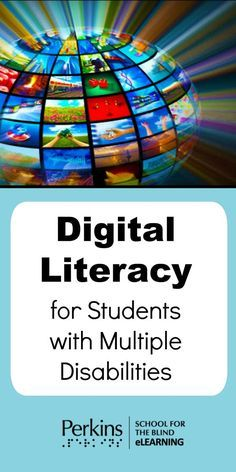 Fun and practical digital literacy tech activities for students who have multiple disabilities and are visually impaired. Multiple Disabilities, Learning Disabilities, Assistive Technology, Educational Technology, Student Teaching, Teaching Kids, Preschool Special Education, Digital Literacy, School Psychology