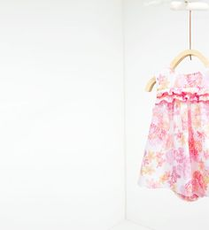 Robe imprimée - ROBES ET GRENOUILLÈRES-MINI | 0-12 mois-ENFANTS | ZARA France