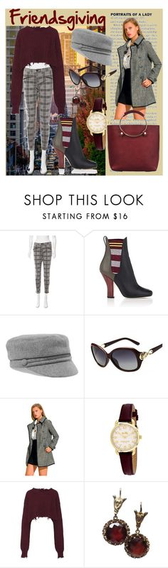 """""""Autumn in the City"""" by lora-86 on Polyvore featuring Current/Elliott, Fendi, Eugenia Kim, Coach, Unravel and Tribe Alive"""