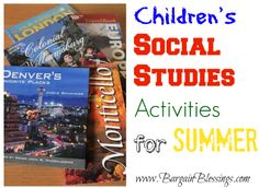 These are some awesome ideas to keep the kids engaged during summer! #summer