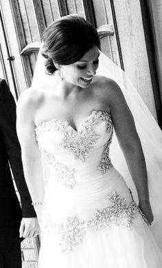 Used Pnina Tornai Wedding Dress 0757, loveeeee