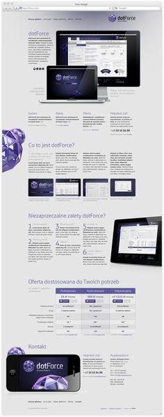 dotForce Business Platform by thoke design , via Behance