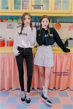 Korean Fashion Trends you can Steal – Designer Fashion Tips Korean Girl Fashion, Korean Fashion Trends, Ulzzang Fashion, Korean Street Fashion, Korea Fashion, Kpop Fashion, Japanese Fashion, Cute Fashion, Asian Fashion