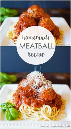 Meatballs The BEST homemade meatballs recipe, so good! Great dinner idea, a family favorite recipe!The BEST homemade meatballs recipe, so good! Great dinner idea, a family favorite recipe! Best Homemade Meatball Recipe, Meatball Recipes, Meat Recipes, Cooking Recipes, Healthy Recipes, Beef Dishes, Food Dishes, Food Platters, Italian Dishes