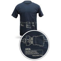 "Nothing says ""Happy National Physics Day"" like the Large Hadron Collider on your torso."