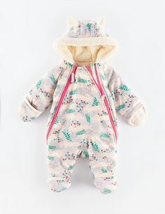 Cosy Zip-up All-in-one 75027 All-In-Ones at Boden