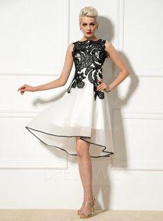 Floral applique dress style 2933 n