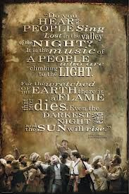 les miserables quotes - Even the darkest night will end and the sun will rise