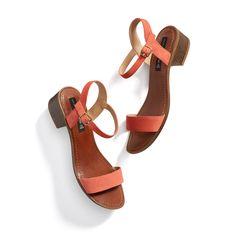 Stitch Fix Summer Style: Bright Ankle Strap Sandal