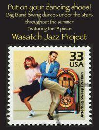Big Band Dance Nights (free). Wasatch Jazz Orchestra. Gallivan Center in Salt Lake City
