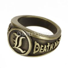 Wish | Death Note L Ring Pendant Necklace Anime Cosplay