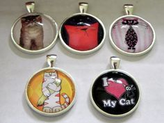 Paws and Reflectpendants for your animal by HappilyEverAfter52, $6.50