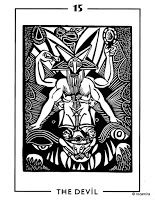 THE DEVIL - The Light and Shadow Tarot