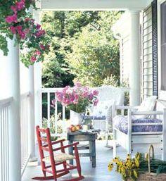 Beyaz balkon