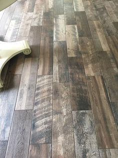 Porcelain Wood Look Tile In Upstairs Bathroom Home Depot